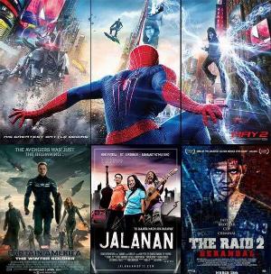Film-film box office yang 'menghantam' JALANAN di bioksop