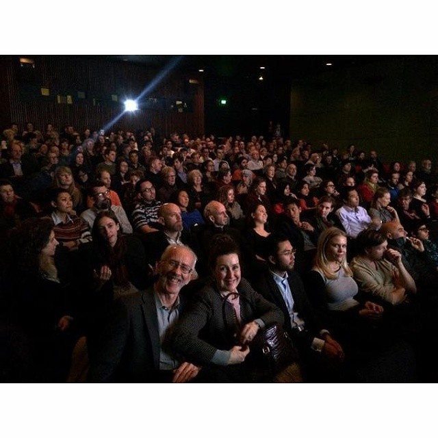 Treasury #theater was packed last night for #JALANAN #screening! #Melbourne #International #Film #Festival #Jakarta #street #busker #musical #documentary