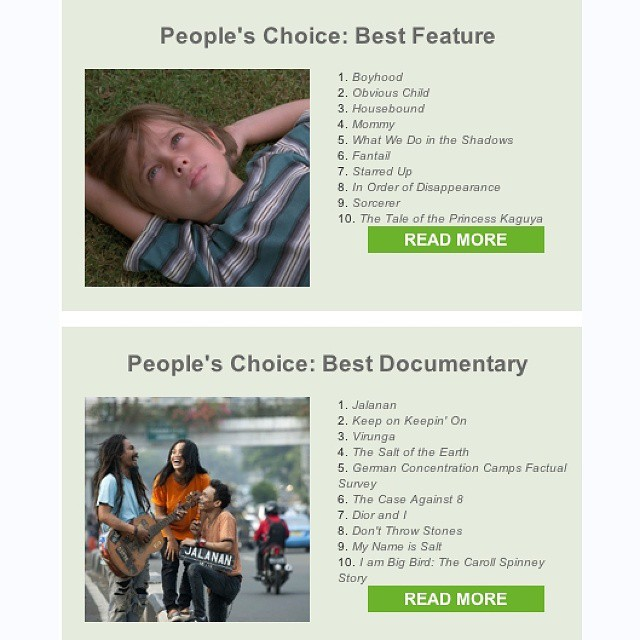 So thrilled to announce that JALANAN has just won the People's Choice #Award for Best #Documentary at The Melbourne International #Film #Festival.  We're humbled that JALANAN joins the ranks of past #MIFF docu #winners 'Searching for Sugar Man', 'The Crash Reel', and 'Senna'. We're especially proud of @titijalanan whose presence at our #screenings undoubtedly made the #experience particularly special for #Melbourne #audiences.  And as always, we thank you, all of our #friends n #supporters, for being with us on this incredible #journey