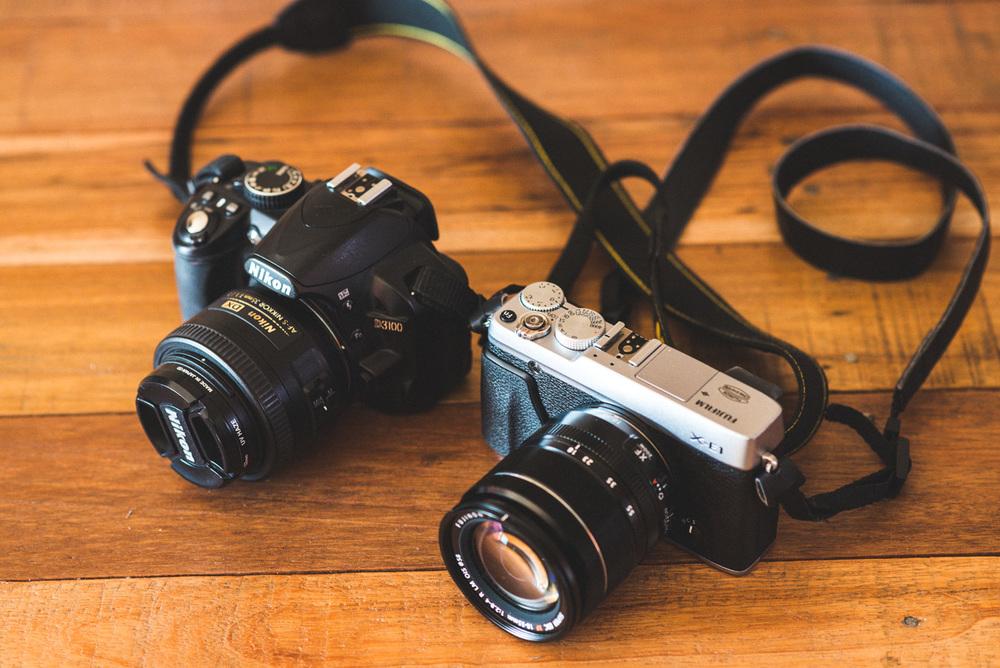 D3100 vs X-E1