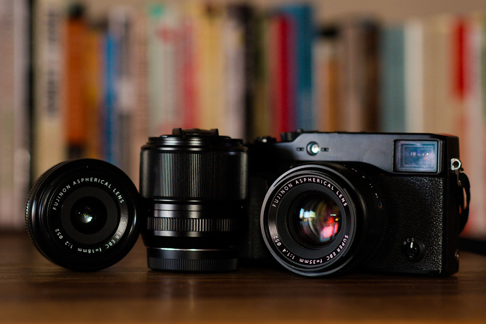 X-Pro 1 with 35mm f/1.4