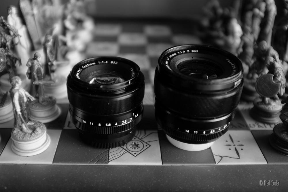 35mm vs. 23mm