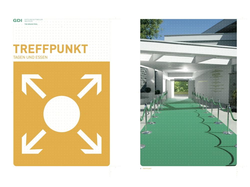 Meeting-Broschüre