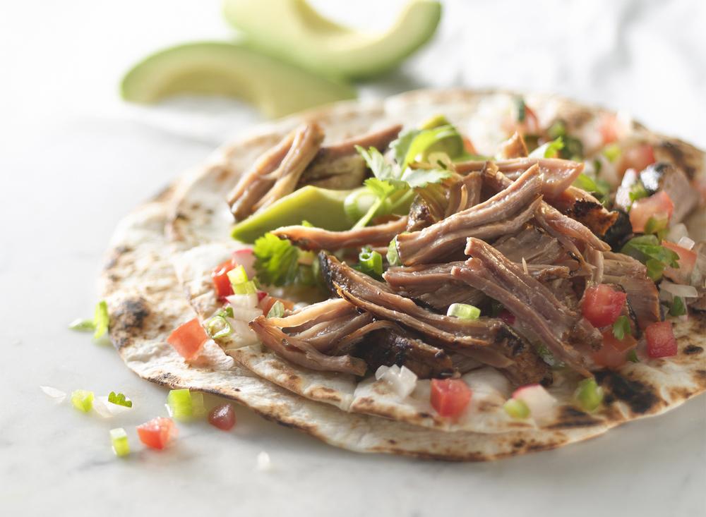 Seared Carnitas Tacos | Tony Kubat Photography