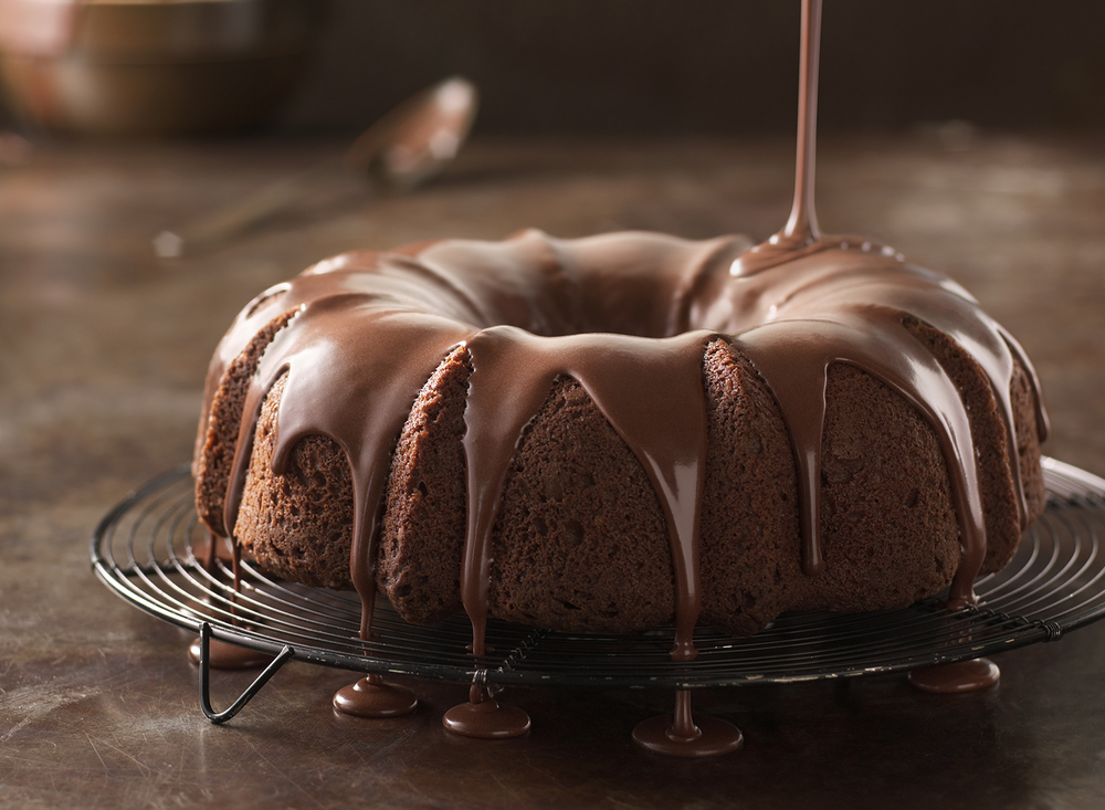 Chocolate Bundt Cake | Tony Kubat Photography