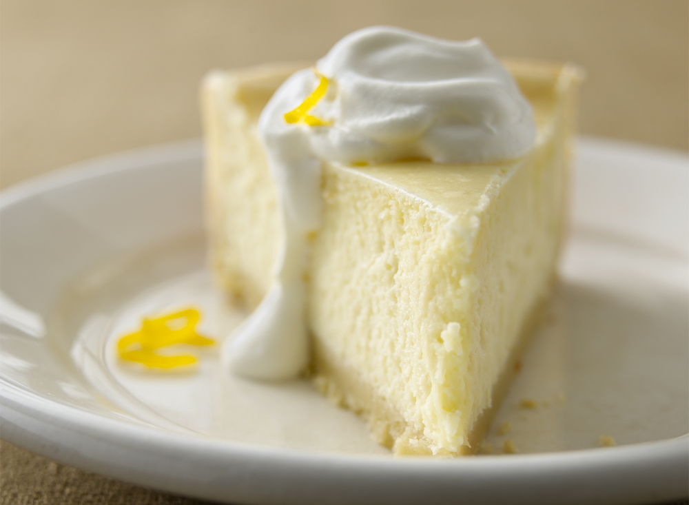 Lemon Cheesecake | Tony Kubat Photography