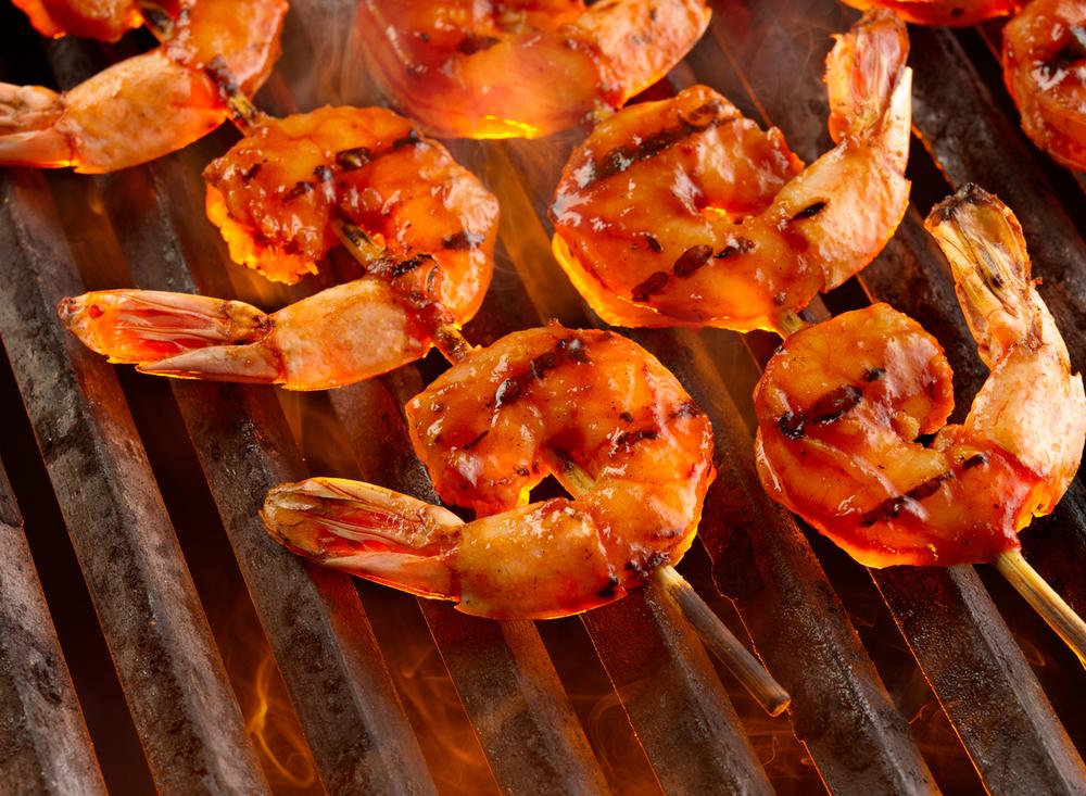 Shrimp On The Grill | Tony Kubat Photography