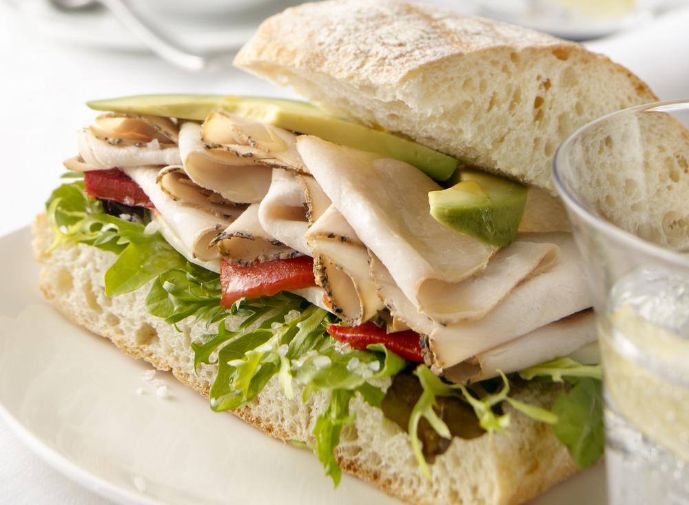 Turkey Avacado Sandwich | Tony Kubat Photography