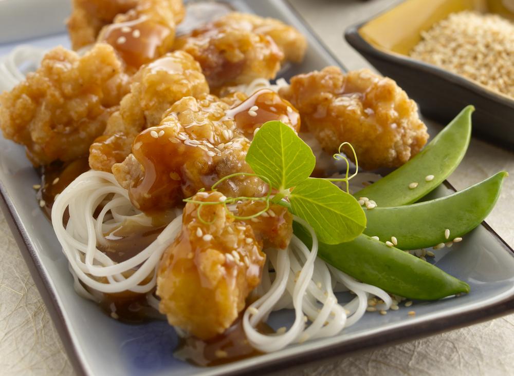 Asian Chicken Strips | Tony Kubat Photography