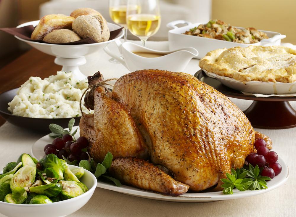 Thanksgiving Turkey Table Setting | Tony Kubat Photography