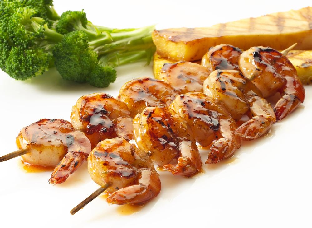 Barbeque Shrimp Skewers |Tony Kubat Photography