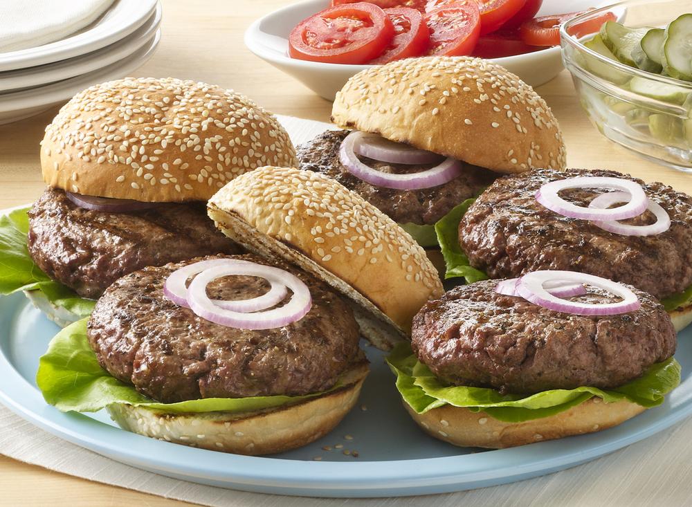 Hamburger Platter | Tony Kubat Photography