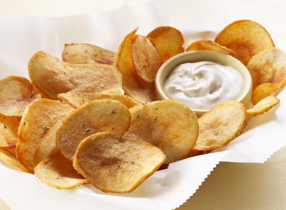 Homemade Potato Chips | Tony Kubat Photography