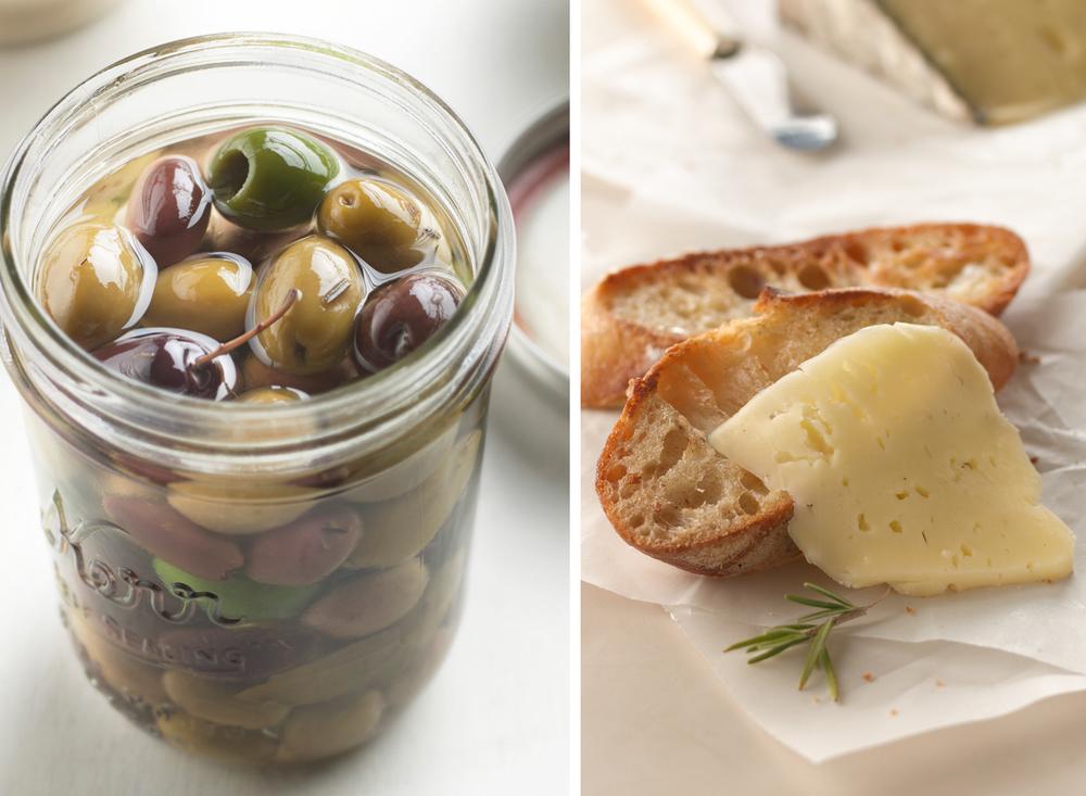 Olives And Crostini | Tony Kubat Photography