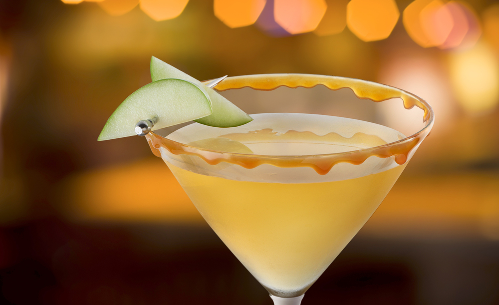 Caramel Appletini | Tony Kubat Photography