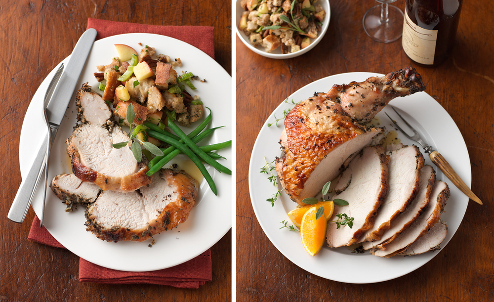 Carved Turkey With Stuffing | Tony Kubat Photography