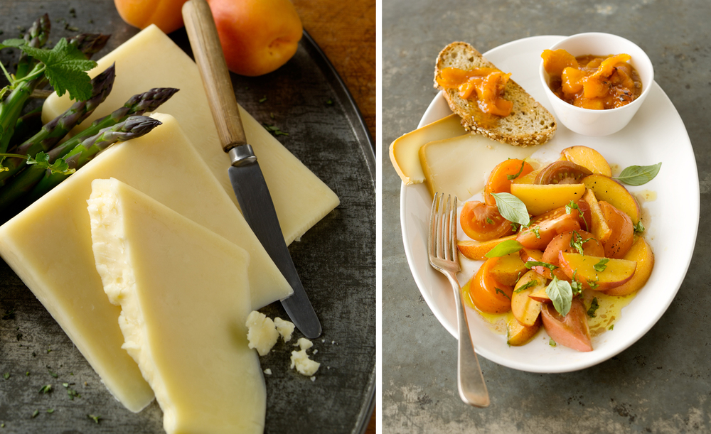 Cheese and Fruit Plate | Tony Kubat Photography