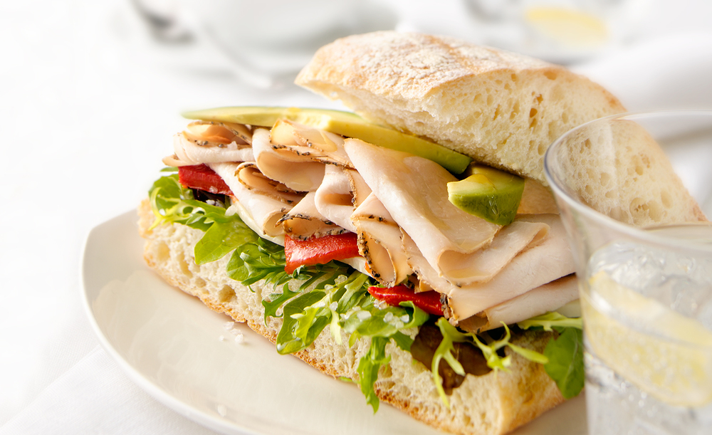 Turkey Avacado Sandwich | Tony Kubat Photography