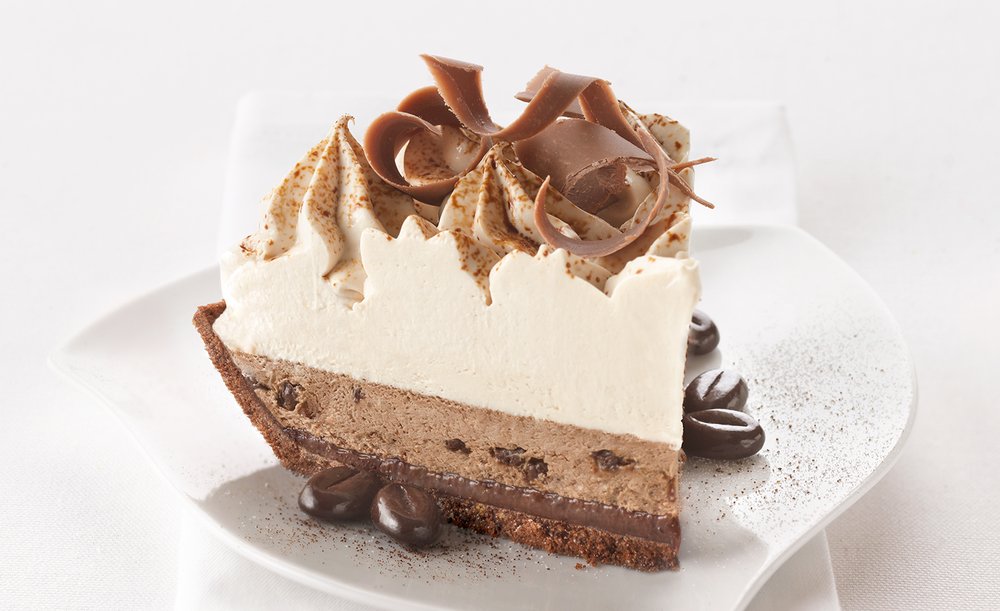 Chocolate Espresso Cream Pie | Tony Kubat Photography
