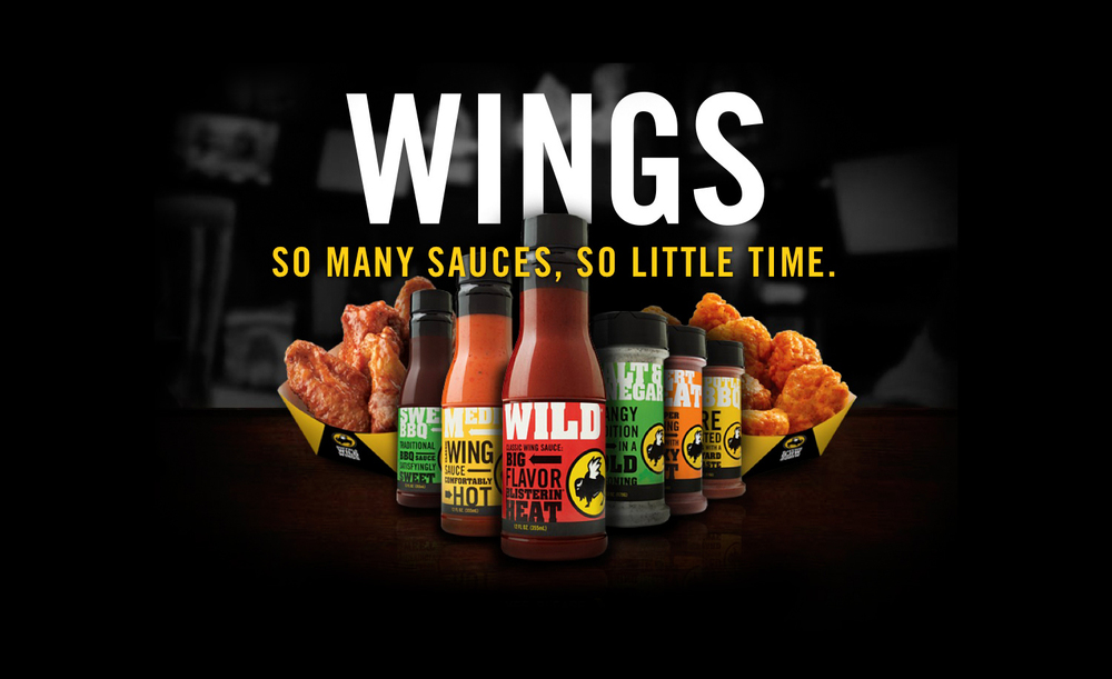Buffalo Wild Wings Sauces | Tony Kubat Photography