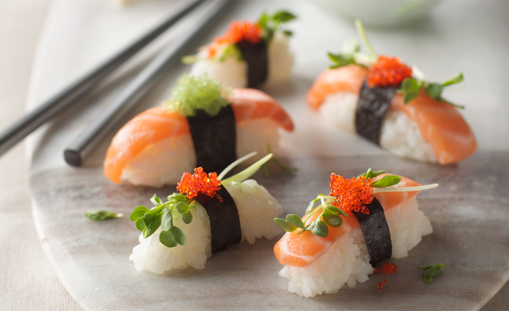 Sushi and Sashimi | Tony Kubat Photography