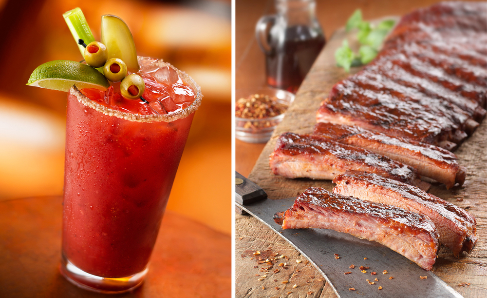 Bloody Mary With Ribs | Tony Kubat Photography