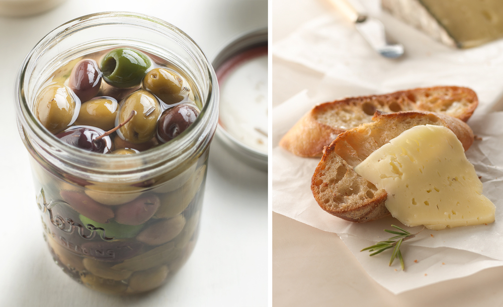 Olives And Crostini | Tony Kubat Photography