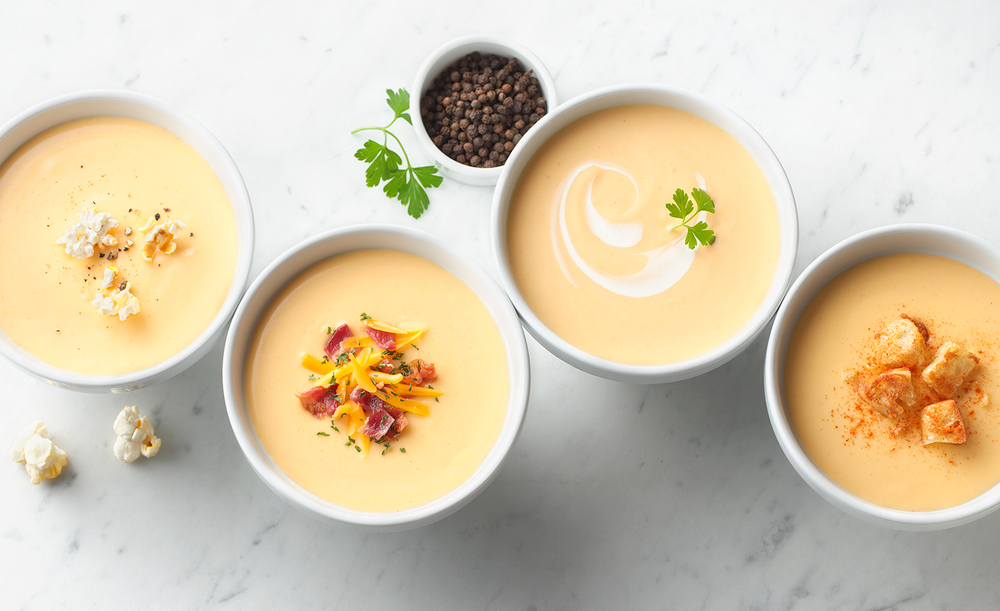 Potato Cheese Soup | Tony Kubat Photography