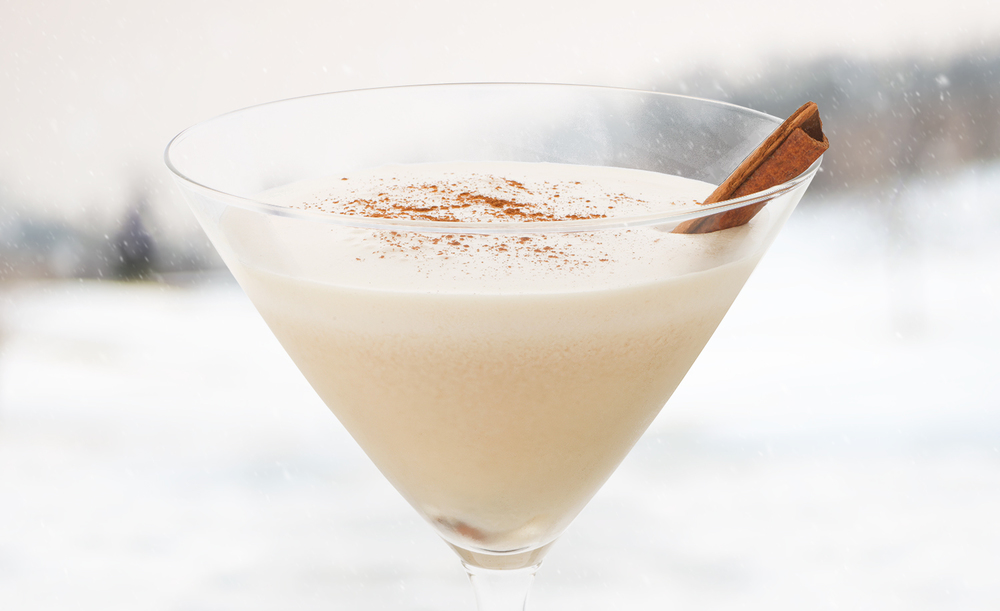 Bailey's Kiss Martini | Tony Kubat Photography