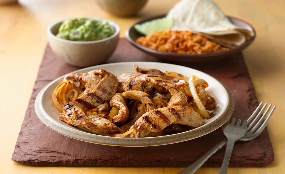Grilled Chicken Fajitas | Tony Kubat Photography