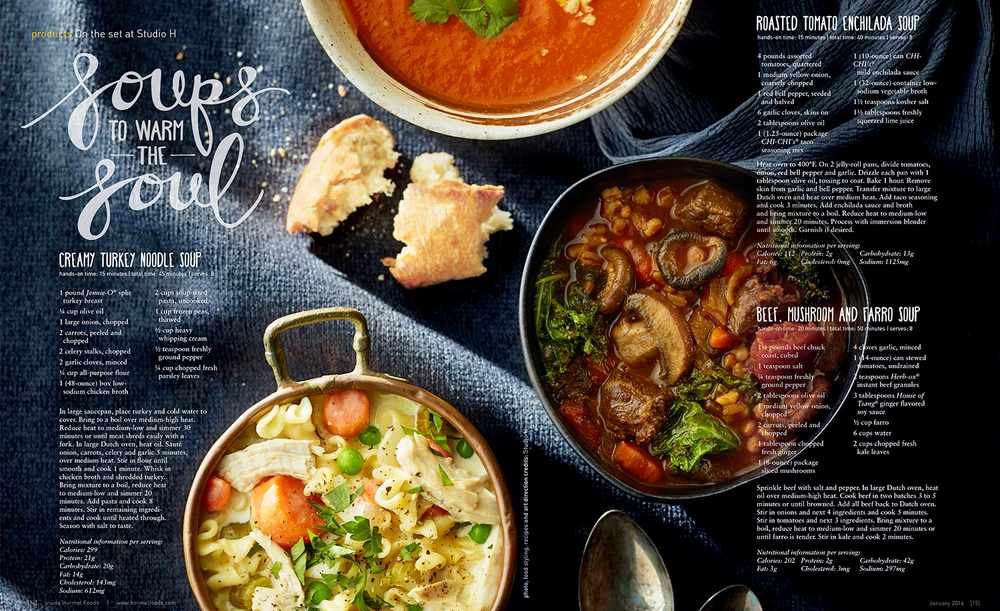 Soups to Warm the Soul | Tony Kubat Photography