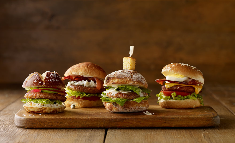 Slider Burgers | Tony Kubat Photography
