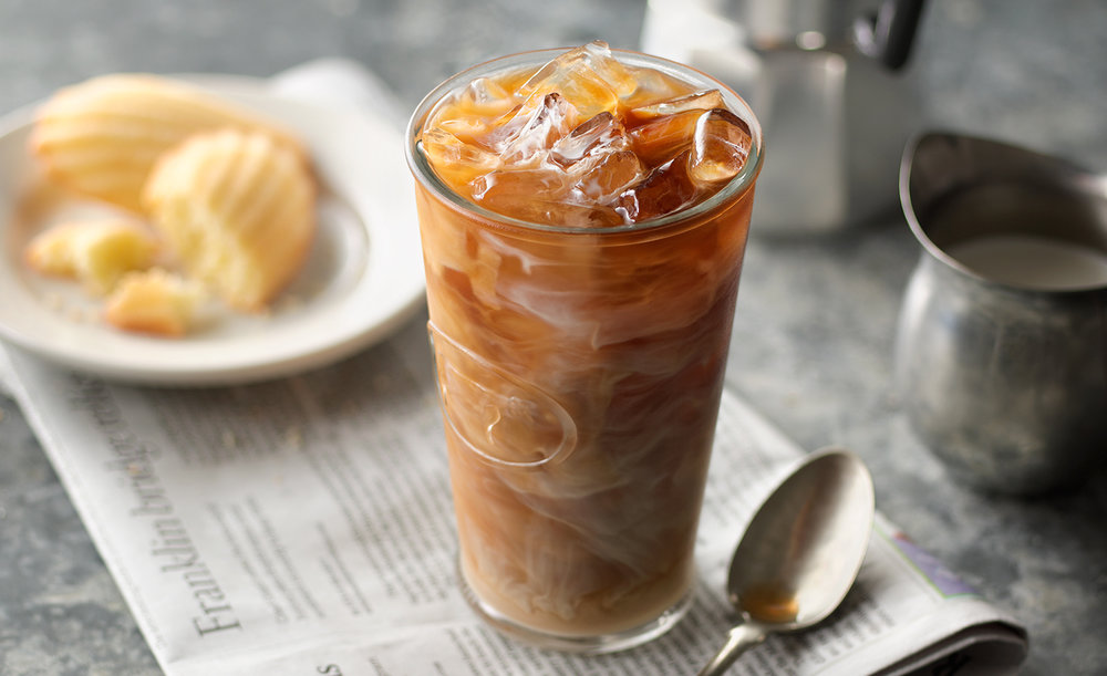 Iced Cafe Coffee | Tony Kubat Photography