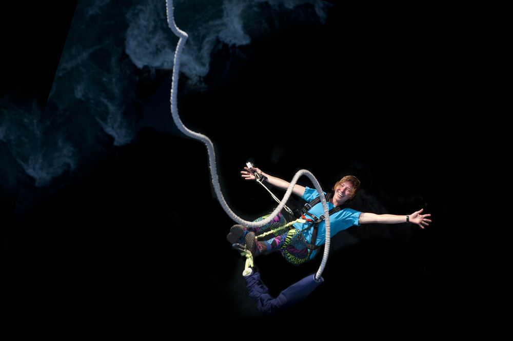 Bungy jumping  Last Resort, Nepal