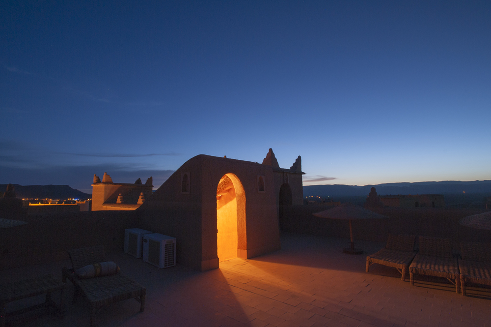 Kasbah, N'Kob, Morocco