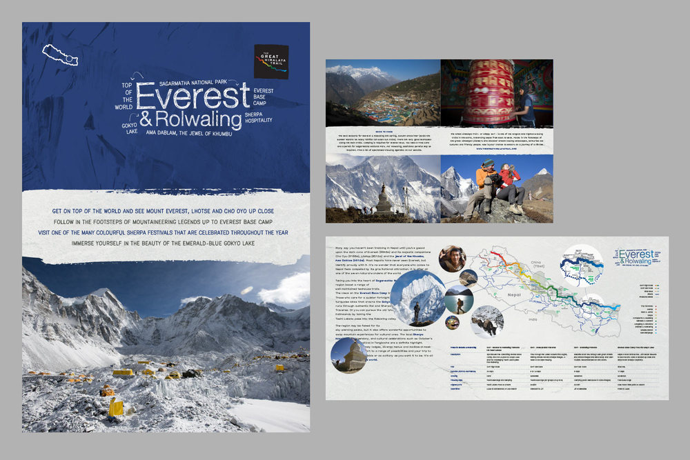 Flyer for the Everest region