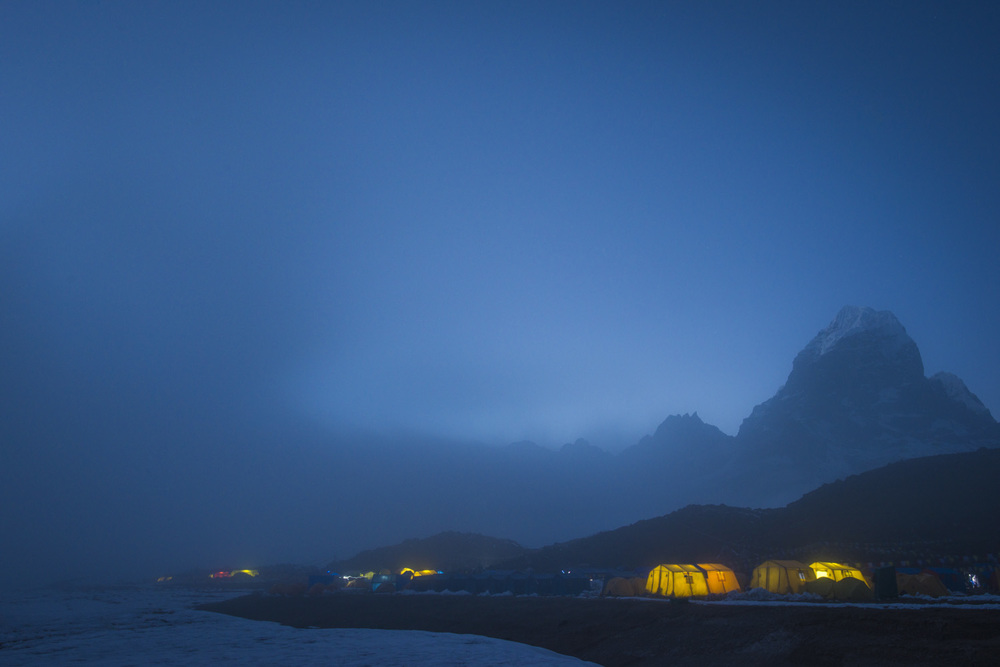 Ama Dablam base camp  Khumbu, Nepal