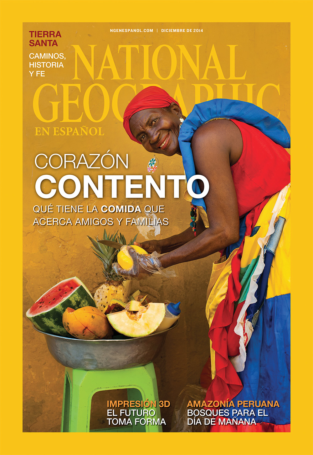 National Geographic cover, December 2014, Latin America