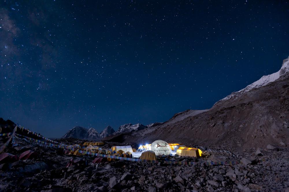Everest base camp  Khumbu,Nepal
