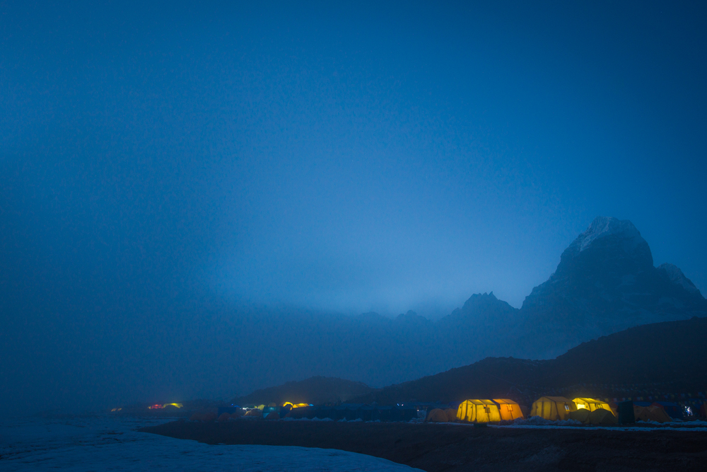 Ama Dablam base camp  Khumbu, Nepal