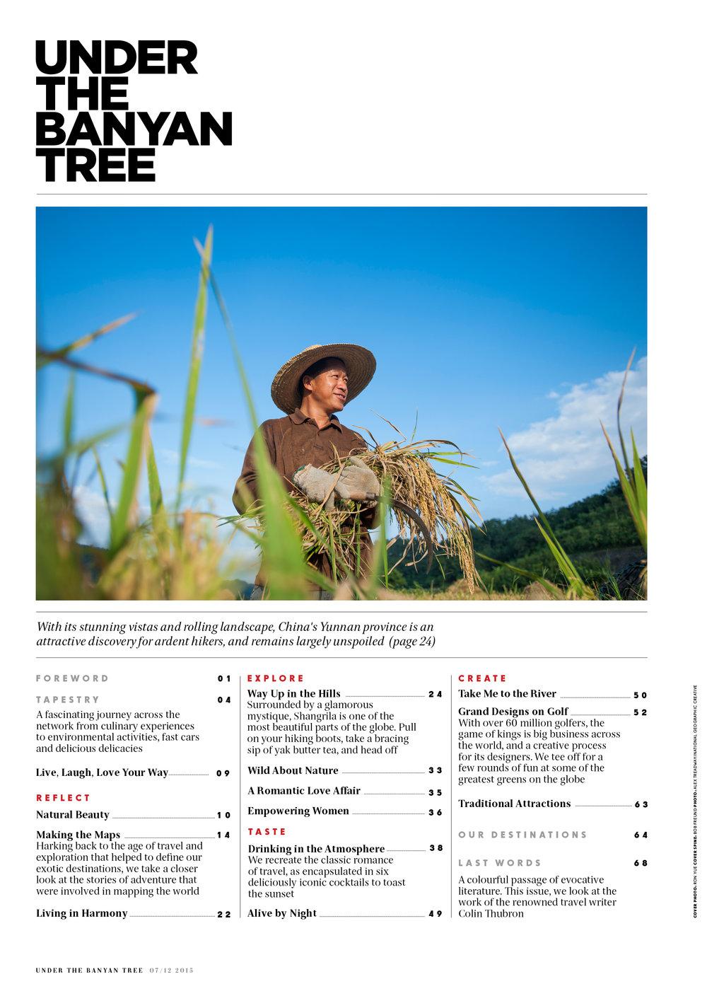 Under the Banyan Tree Magazine