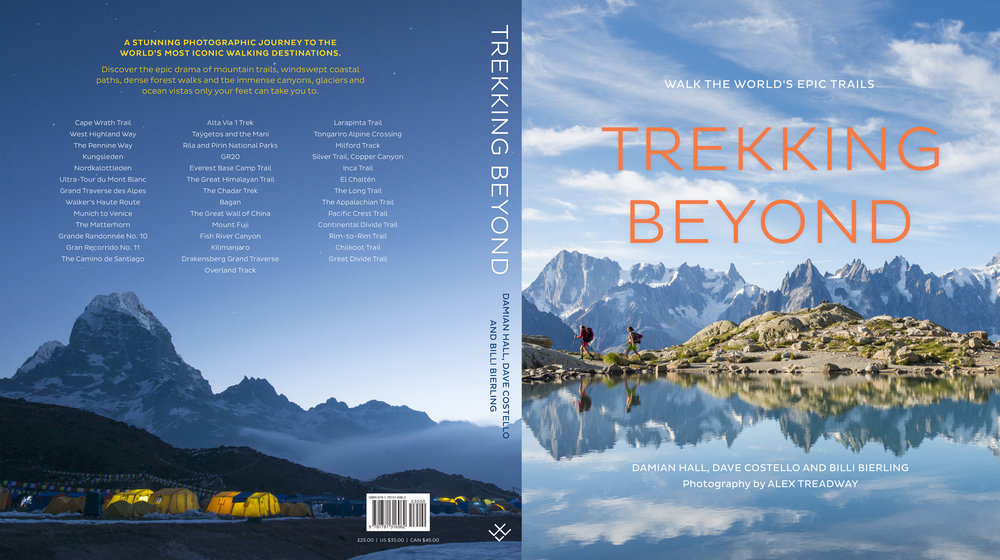 For the past two years I've walked and photographed some of the world's epic trails and photographed them for the book  Trekking Beyond .
