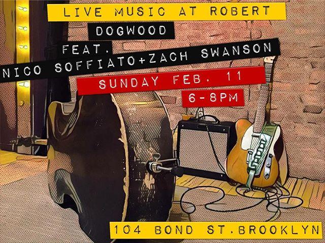 Tonight! #livemusic #brooklyn #dogwoodduo