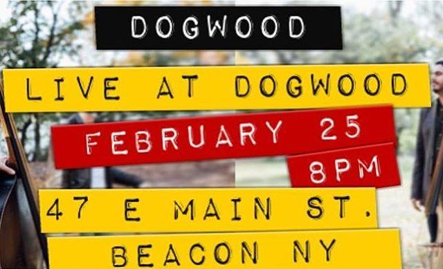 Tonight in Beacon! #dogwoodduo #livemusic