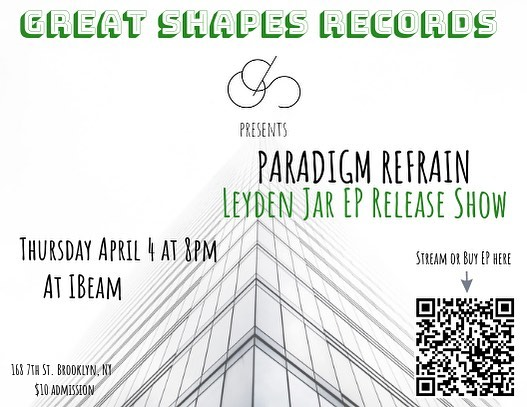 Save the date! EP release show!