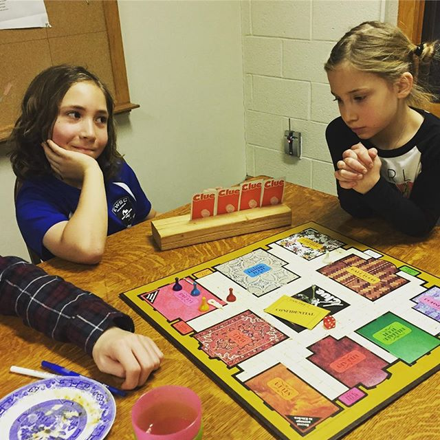 Family Game Night! #episcopal #gamenight