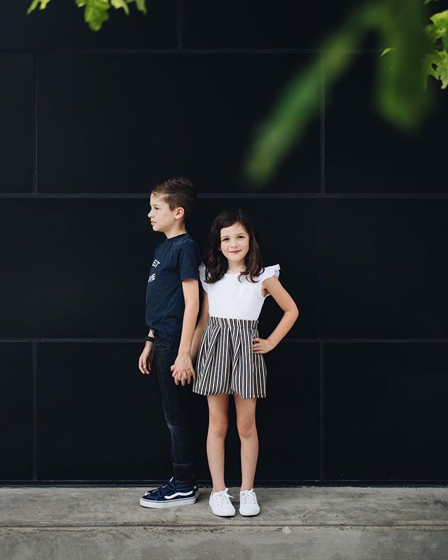So proud of this duo. One of the things I've prayed for since they were tiny is for God to give them wisdom. And now watching them make good decisions around their peers has been the most incredible thing to witness. If they could just stay this way until they are teenagers I'll be good. 😬 . . . #siblings #wisdom #siblinghood #birminghamalabama #bham #birmingham #zarakids #zara #kidsfashion #saykids #vans #keds #kedsstyle
