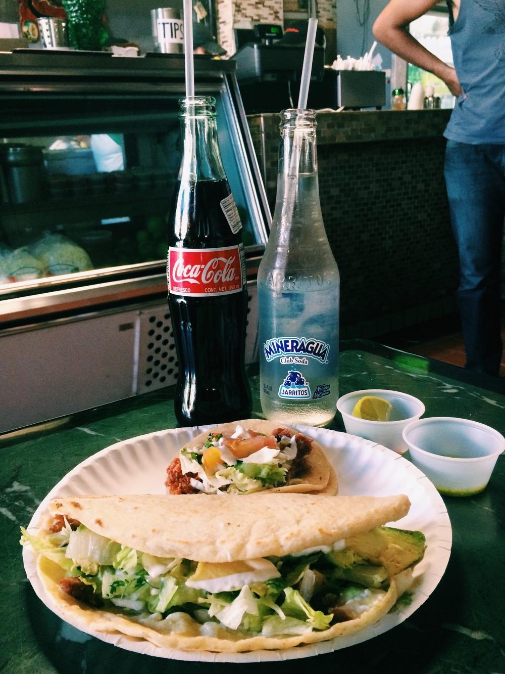 The chorizo taquito | Photo: Celine Asril