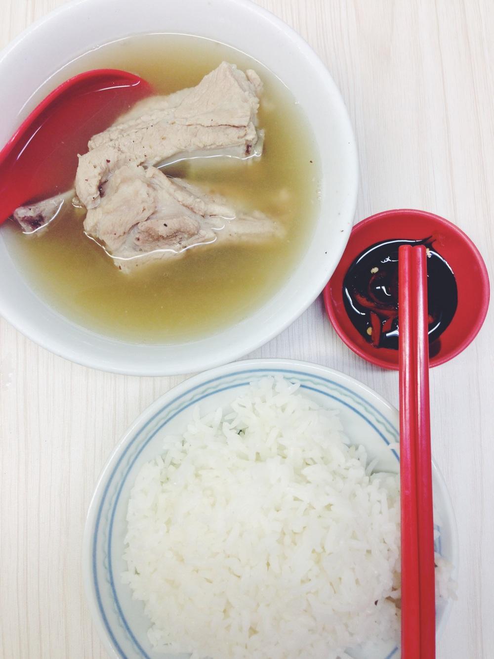 Bak kut teh ($7) fromOutram Ya Hua Rou Gu Cha Restaurant