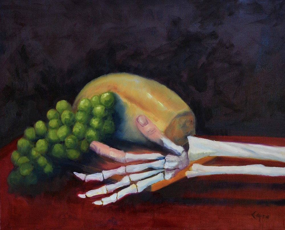 Bread of Life   16x20  oil painting  $267.00